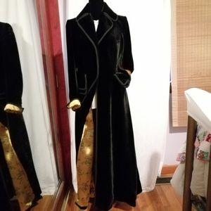 J.Peterman Company, Edwardian full velvet coat, 10